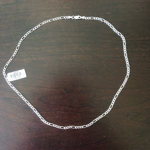 Sterling Silver Chain Necklace NWT